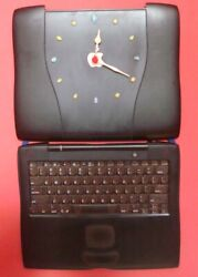 Macintosh/ Apple Powerbook G3 Lombard Recycled Into Wall Clock - Handmade