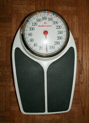 Health o Meter Large Dial Scale which goes up to 325 lbs vintage
