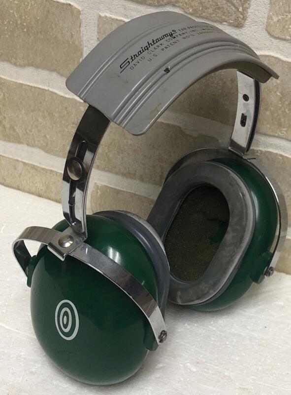 David Clark Straightaway Ear Hearing Protector Protection Model 10AS Adjustable