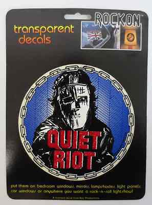 QUIET RIOT ROCK ON DECAL CAR WINDOW MIRROR DECALS ROCK & ROLL KEY PRODUCTIONS