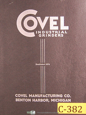 Covel Clausing 12 Tool Cutter Grinder Operations And Assembly Manual 1968