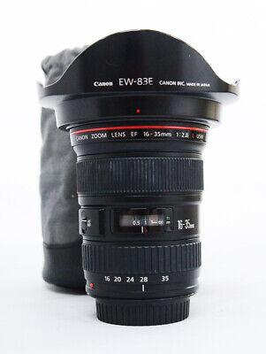 # Canon EF 16-35mm f/2.8 L USM Lens S/N 458029