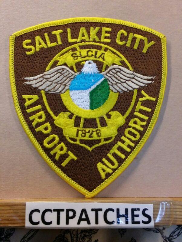 SALT LAKE CITY, UTAH  AIRPORT AUTHORITY POLICE SHOULDER PATCH UT