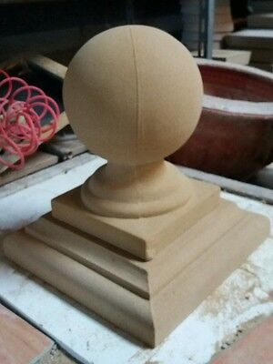 Pier cap and ball finial