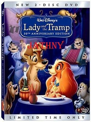 Lady And The Tramp  Dvd  2006  2 Disc Set  Special Edition  New Factory Sealed