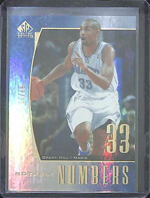 2005-06 Upper Deck SP Signature Edition Notable Numbers #214 Grant Hill 16 of 33