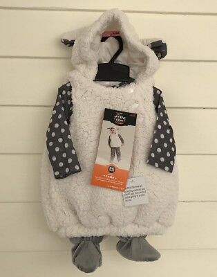 Infant Baby Lamb Sheep Costumes 6 12 18 Months White Animal Farm Hyde Eek Target