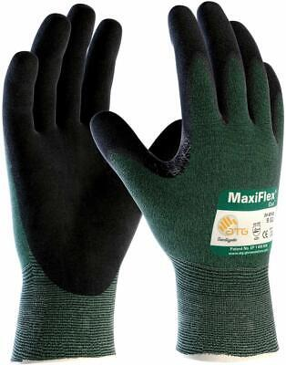 Pip 34-8743 Mens Maxiflex Cut Green Engineered Yarn Black Various Size S-3xl