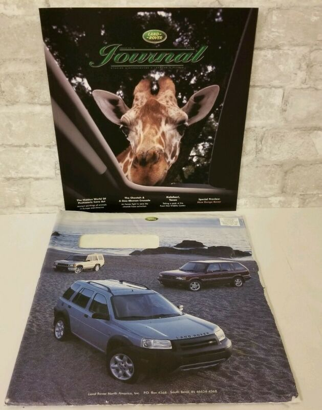 Land Rover 2002 Journal Issue No. 7 Range Rover Discovery Freelander Brochure