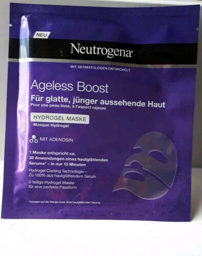 NEUTROGENA - Ageless Boost - Glättende Hydrogel Maske - Tuchmaske - Neu