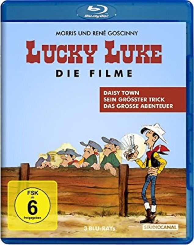 Lucky Luke - Die Filme Blu-ray NEU OVP Die Spielfilm Edition