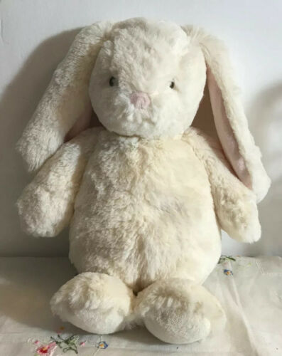 Plush Baby Gund Thistle Baby Bunny Soft Cream Color, 18 Ear To Foot 4056247 Toy - $14.99