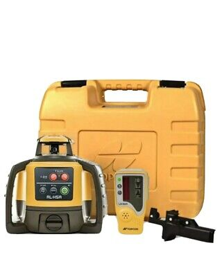 Topcon Rl-h5a Self-leveling Rotary Grade Laser Level - Free Shipping
