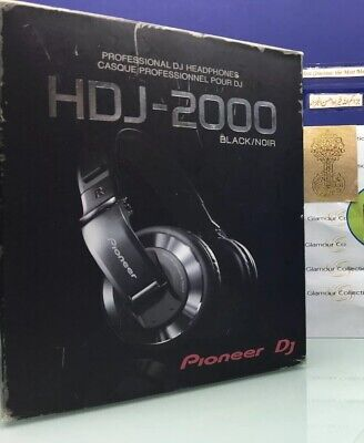 Pioneer HDJ-2000-K DJ Headphones W/ Detachable Cord (A3)