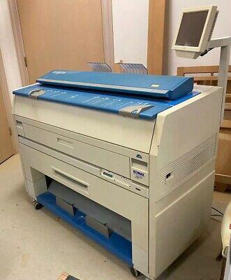 Kip 3000 Wide Format Plotter Printer Scanner And Copier