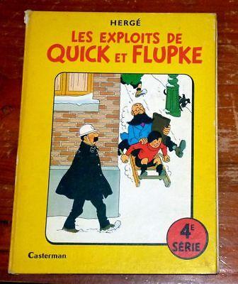 Les exploits de QUICK et FLUPKE : 4e série