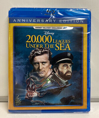 20,000 Leagues Under The Sea Disney Club Blu-Ray Exclusive , New