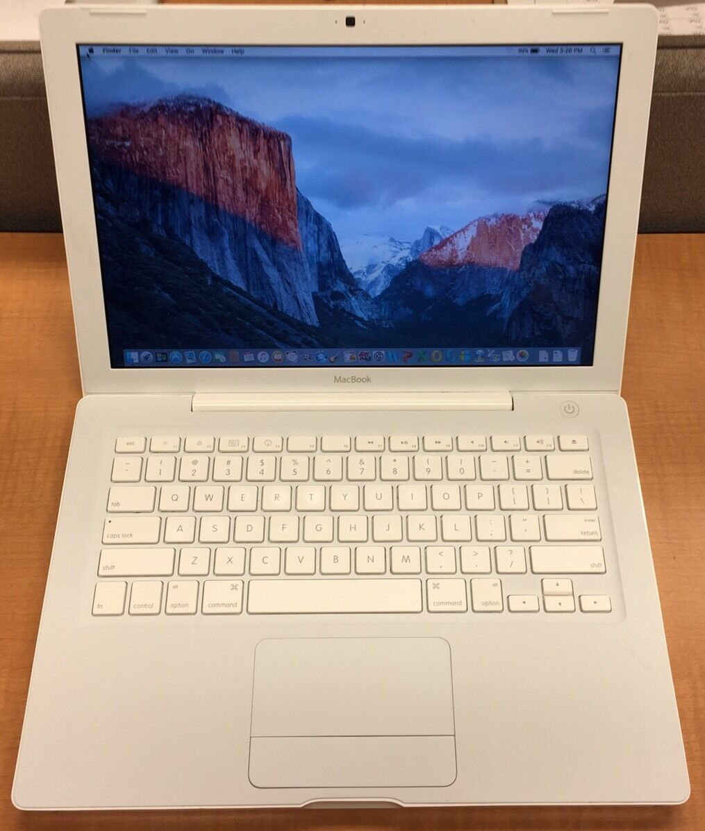 Macbook - Apple MacBook 5,2 Laptop OS X El Capitan 2.13GHz 4GB RAM 250GB HDD - MC240LL/A