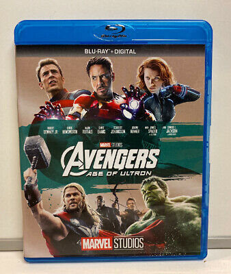 Avengers: Age of Ultron (Blu-ray Disc, 2017) No Digital Copy