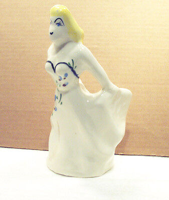 Vintage Woman in Strapless Gown Planter 1950's – As Is
