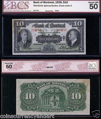 1938  Bank Of Montreal  10