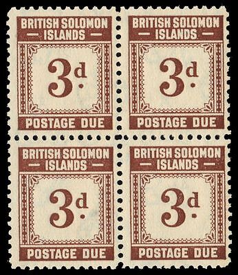 "SOLOMON ISLANDS J3 (SG D3) - Numeral of Value ""Postage Due"" (pa30257)"