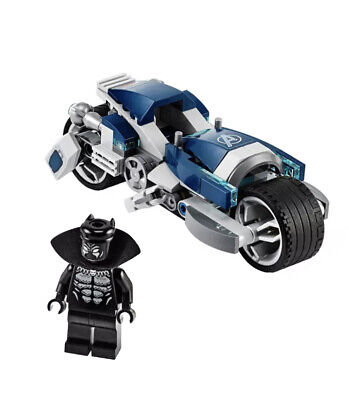 LEGO Super Heroes 76142 Black Panther Minifigure with Speeder Bike -NEW
