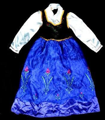 Anna Dress Size 11 140 Samgami Baby Frozen Halloween Costume Disney Elsa