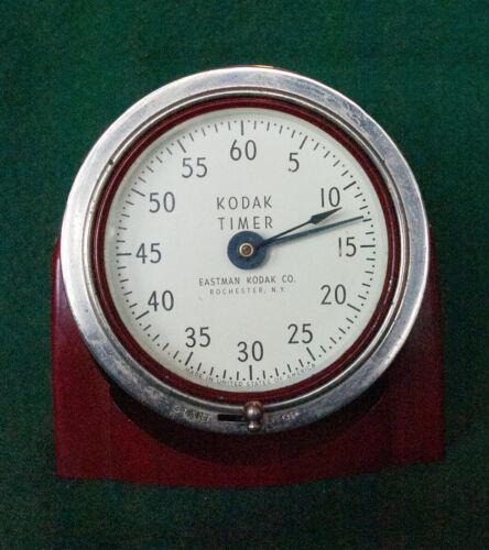 Vintage Kodak Red Darkroom Timer – Works!
