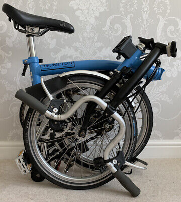 Brompton M3L in matt Blue / Black + £35 UK Mainland + N.I. Delivery