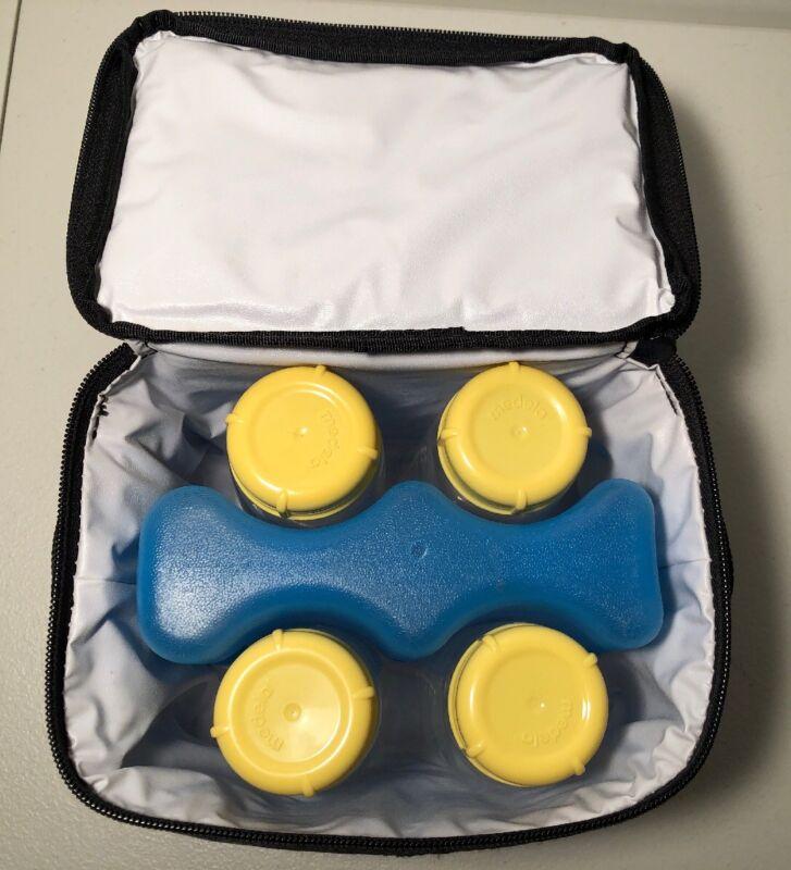 Breast Feeding Milk Travel Cooler Day Carrier Kit #57016 Bottle Freezer Pack