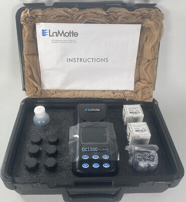 Lamotte Dc1500 Chlorine Colorimeter Kit - Dpd Tablet. Pristine Never Used