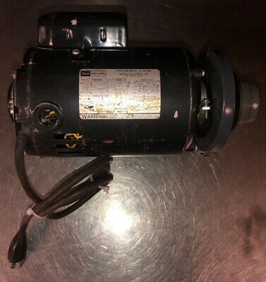 Vtg Craftsman Saw Motor 113.12202 115230v 1 Ph 1hp 3450rpm W Variable Speed