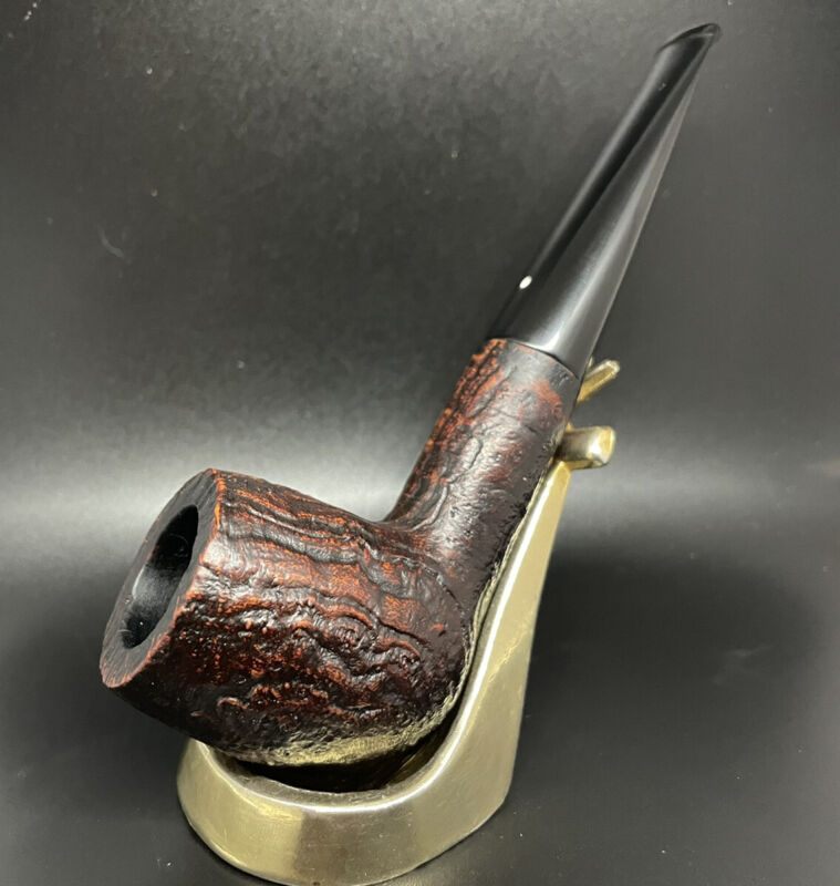 Dunhill Shell Briar! Group Gorgeous Group 4 Chubby Billiard in Excellent Music