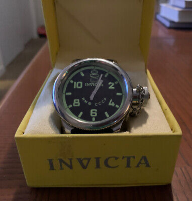 Men's Invicta 4342 Wrist Watch Very Good Condition- Needs Battery- Free Shipping