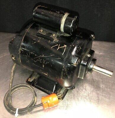 Vintage Westinghouse 34hp Single Shaft Electric Motor 1725rpm 115230v 1 Phase