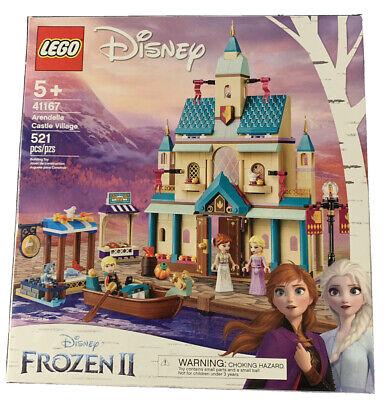 Unopened LEGO Disney Frozen 2 Arendelle Castle Village with Elsa Anna & Kristoff