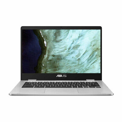 "ASUS Chromebook C423NA 14"" Light Weight Laptop Intel Dual Core 4GB RAM 32GB eMMC"