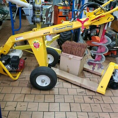 Hole Hog One Man Hydraulic Post Hole Digger W Tow Bar