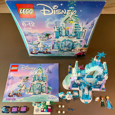Lego 41148 Disney Princess Frozen Elsas Magical Ice Palace Anna Olaf 100% comp