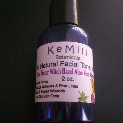 ALL Natural Rose Water Witch Hazel Aloe Vera With Vitamin C