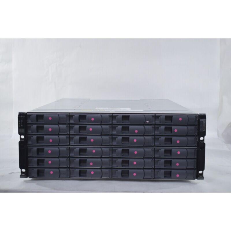 NetApp NAJ-0801 Storage Enclosure 2x IOM6 Controller Modules 6Gbps