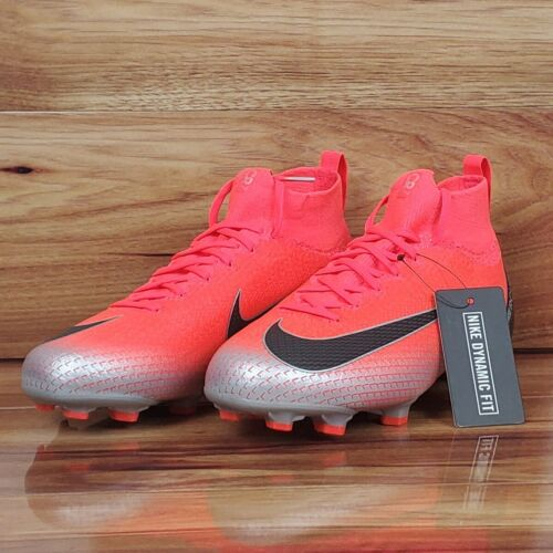 Nike Mercurial Superfly 6 Elite CR7 FG Soccer Cleats AJ3086-600 Multiple Sizes