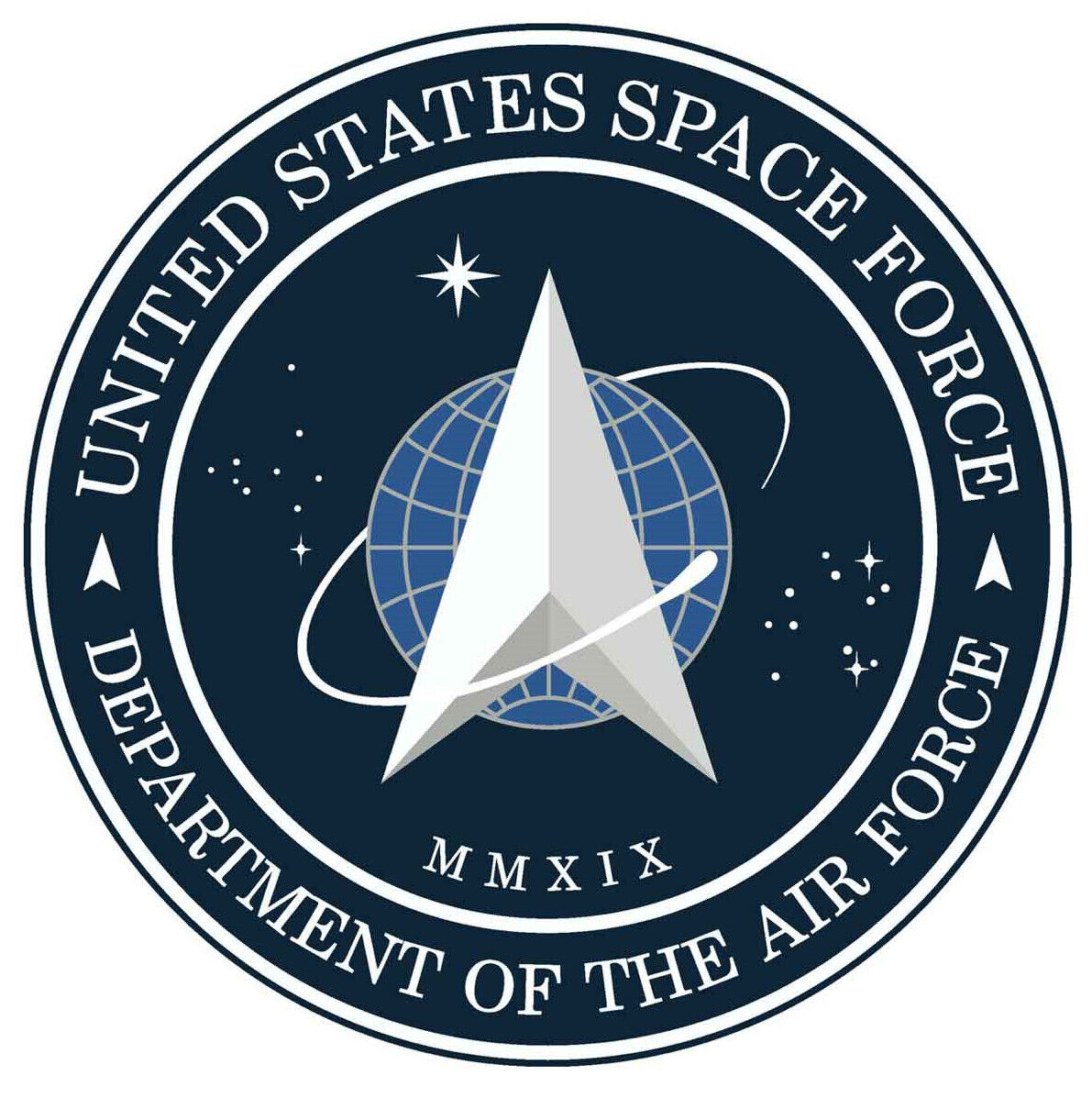 Home Decoration - US Space Force Official Insignia Logo Sticker
