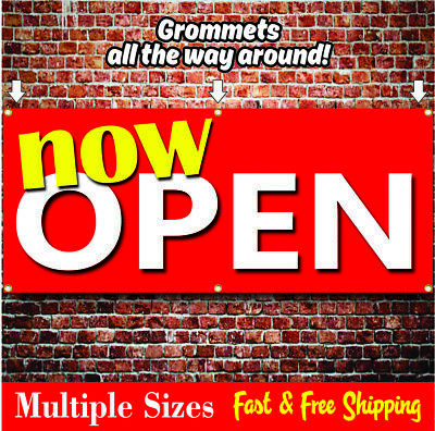 Now Open Banner Grand Opening Sale 01 Red Yellow