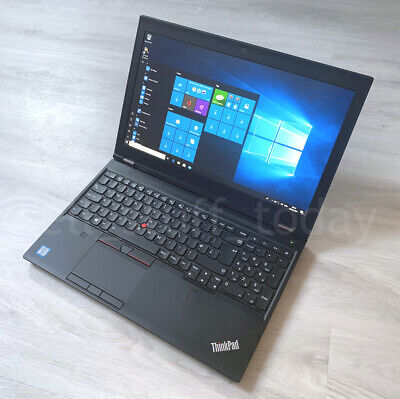 Lenovo ThinkPad P50 laptop, i7-6820HQ, 24GB/256SSD, Quadro M1000M, VGC -S09K