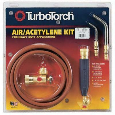 Turbotorch X-3b Torch Kit Swirl For B Tank Air Acetylene 0386-0335