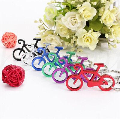 2X buntes Fahrrad Motorrad Schlüsselring Ring Keychain Schlüsselfob Geschenk