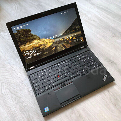 Lenovo ThinkPad P50 CAD/Gaming i7 workstation, 8G/256G, Quadro M1000M, good -153