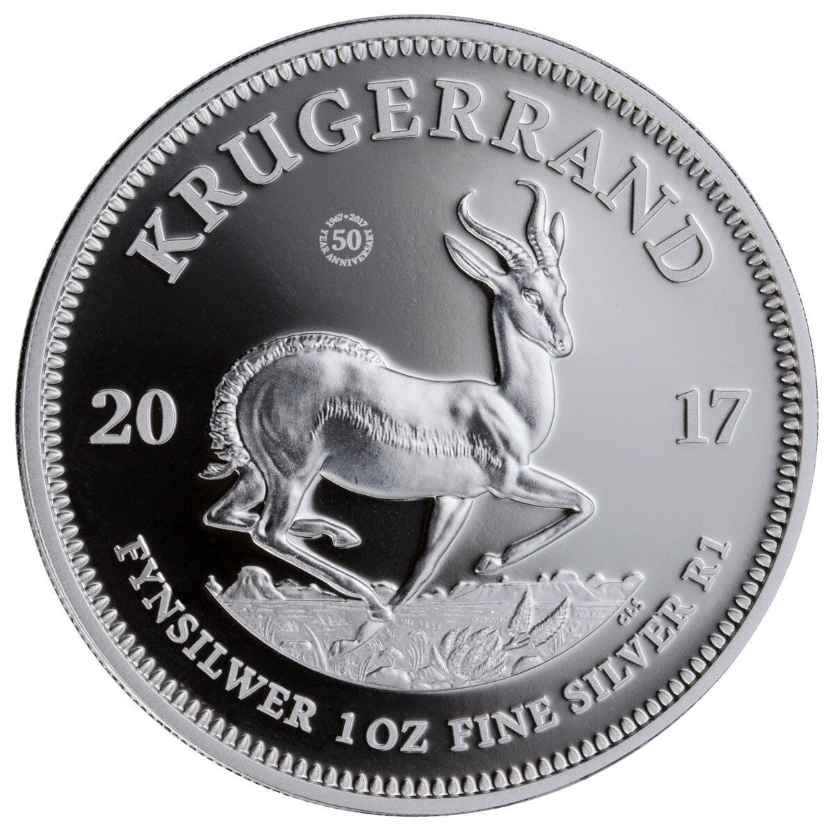 2020 South Africa 1 oz Silver Krugerrand Capsuled Proof Coin W//SEALED OMP /& COA